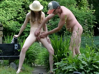 Pee Break back the Garden